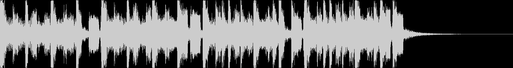 軽快・幻想的スタイリッシュEDMジングルの未再生の波形