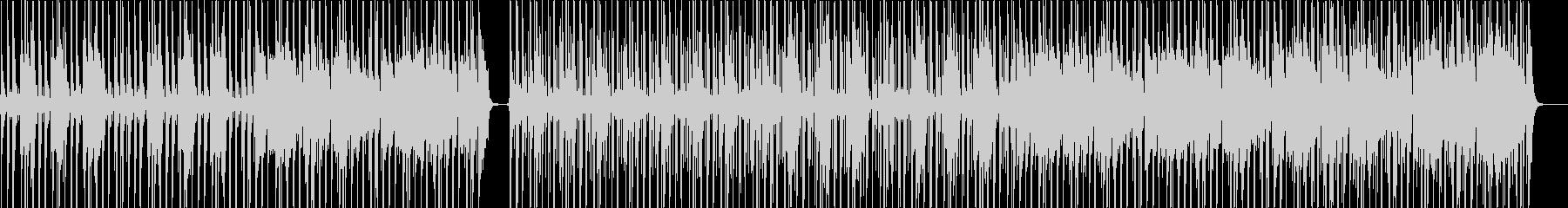 ファンクテイストのオルタナロックの未再生の波形