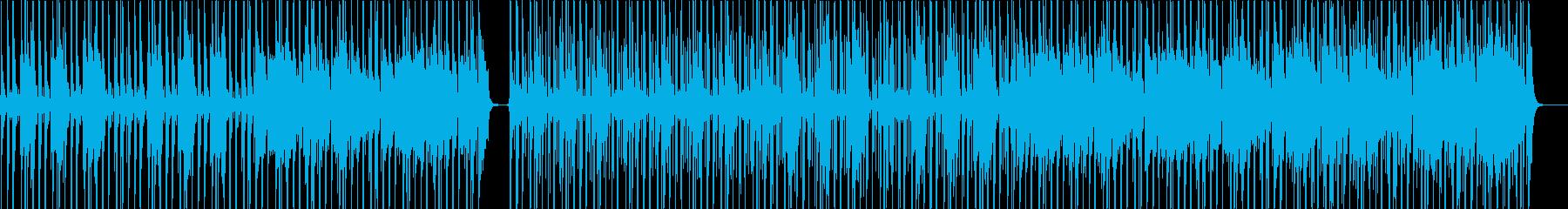 ファンクテイストのオルタナロックの再生済みの波形