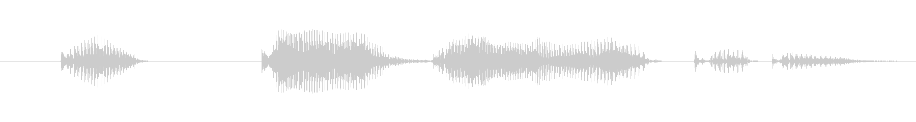 What on earth do you mean? (Boys, boys)'s unreproduced waveform