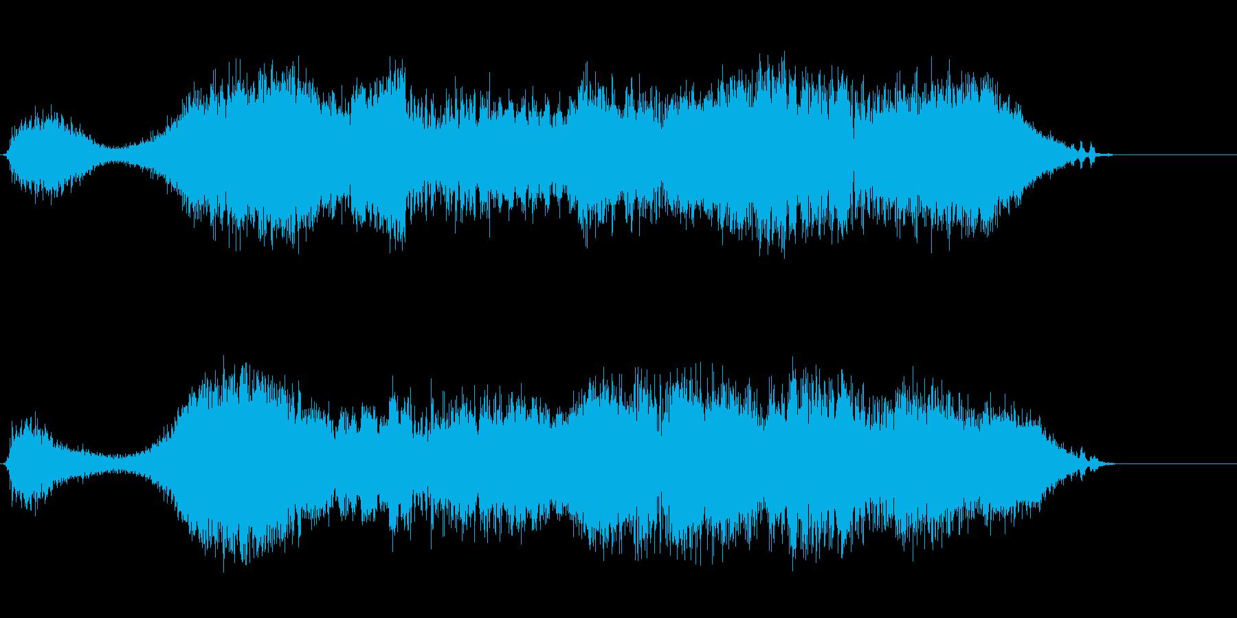 ハイパーメディアの再生済みの波形