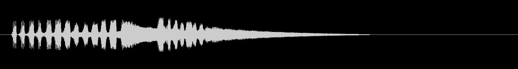 テーマ12B:バソーン、クラリネットの未再生の波形