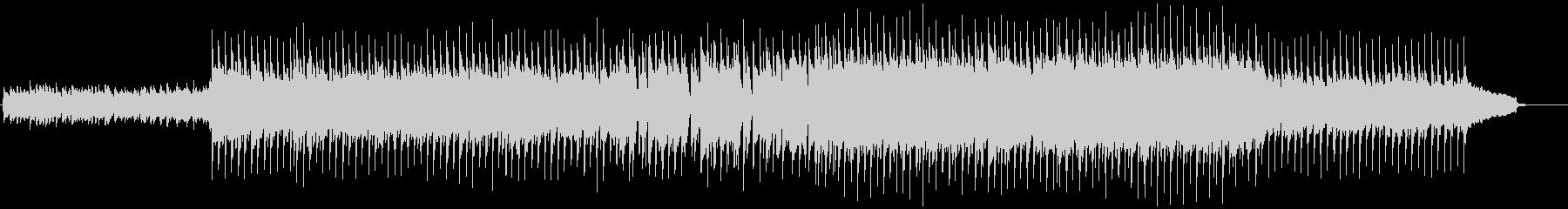 VP系11、爽やかなロック、ドライブBの未再生の波形