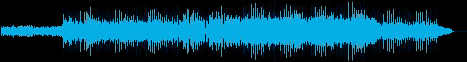 VP系11、爽やかなロック、ドライブBの再生済みの波形