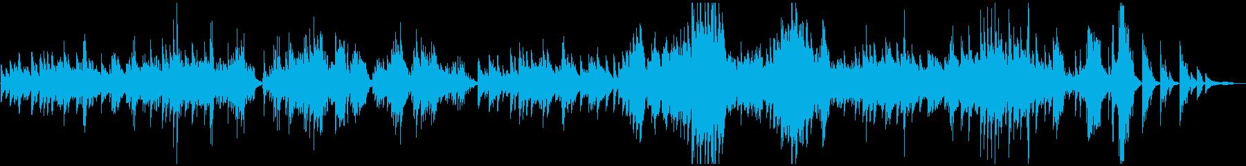 ベートーベンピアノソナタ悲愴2楽章原曲の再生済みの波形