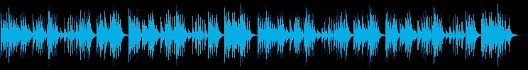 夕焼け小焼け 18弁オルゴール の再生済みの波形