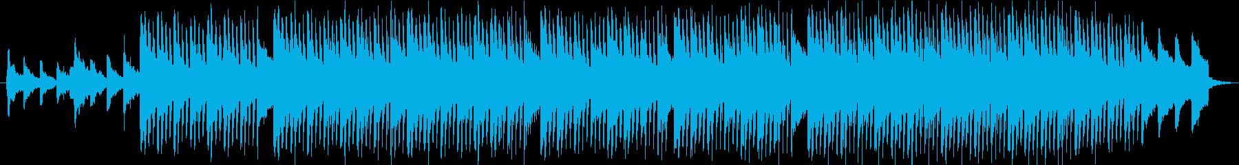 【コーポレート音楽】落ち着く・トロピカルの再生済みの波形