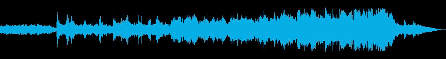 ハープとピアノと笛の高音の魅力がいい曲の再生済みの波形