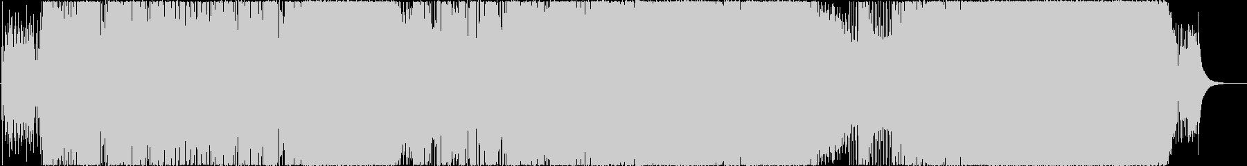 アコギ主体の8ビート爽やか歌ものの未再生の波形