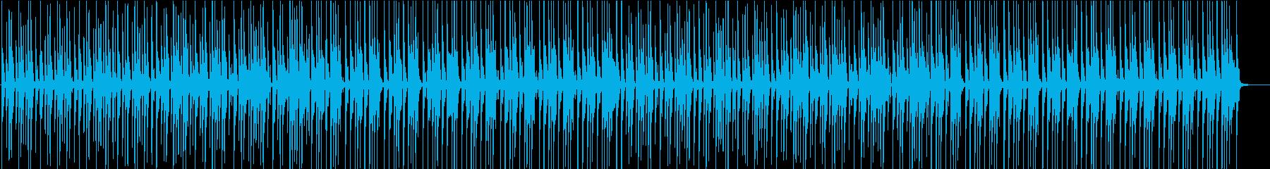 ショッピング・シンプルな8ビートの再生済みの波形