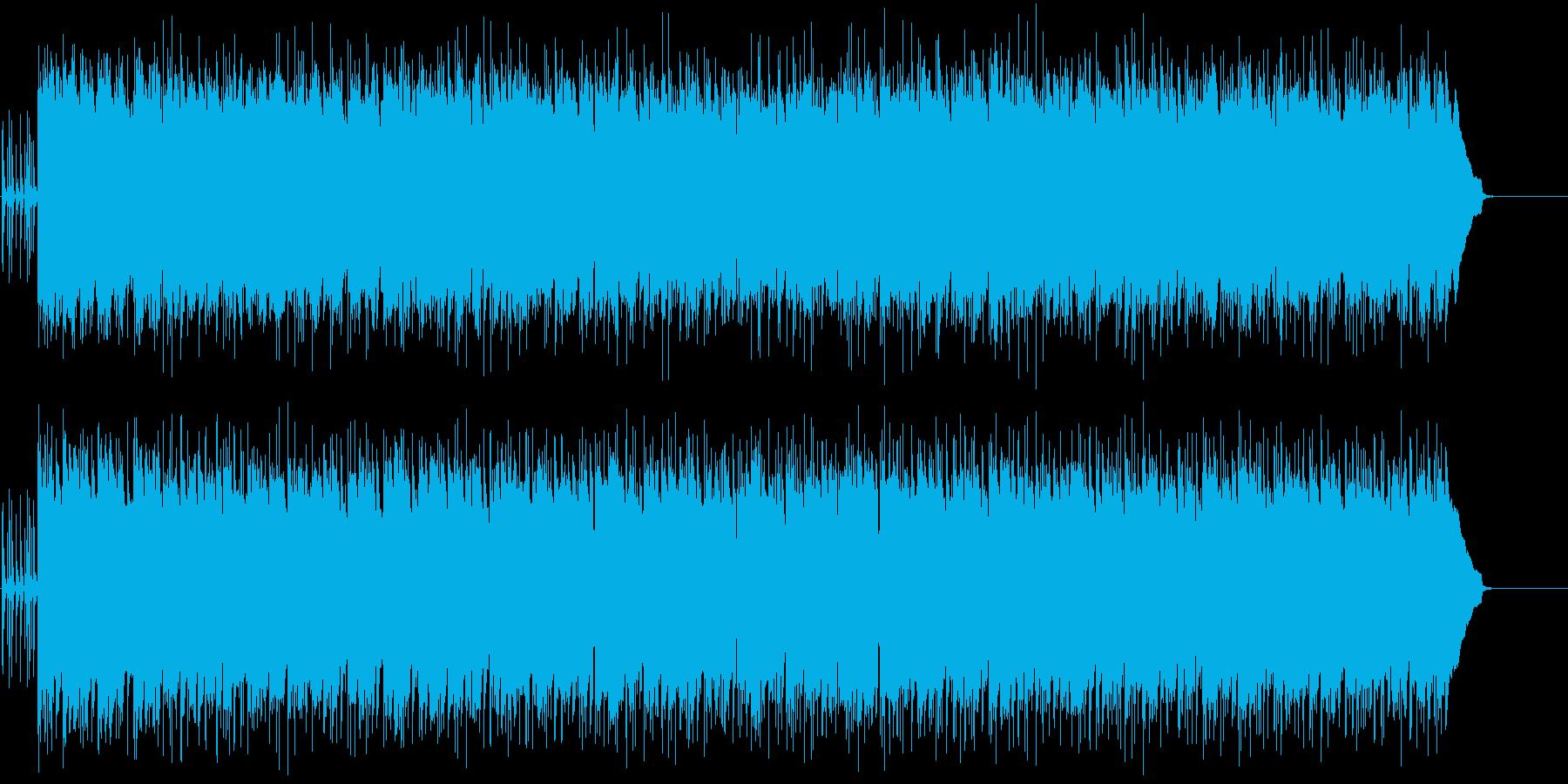 ポップ・カントリー(明るく軽快)の再生済みの波形