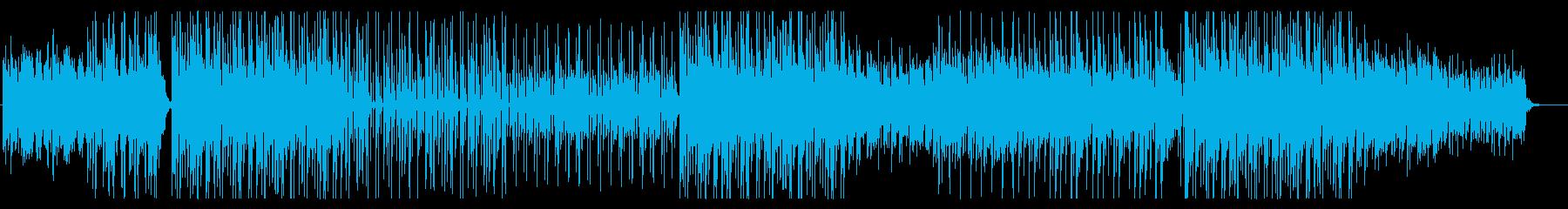 ハロウィン、洋楽、ビート、トラップの再生済みの波形