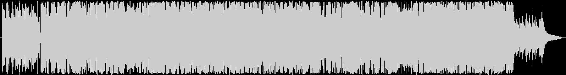 コンパクトで綺麗なピアノロックの未再生の波形