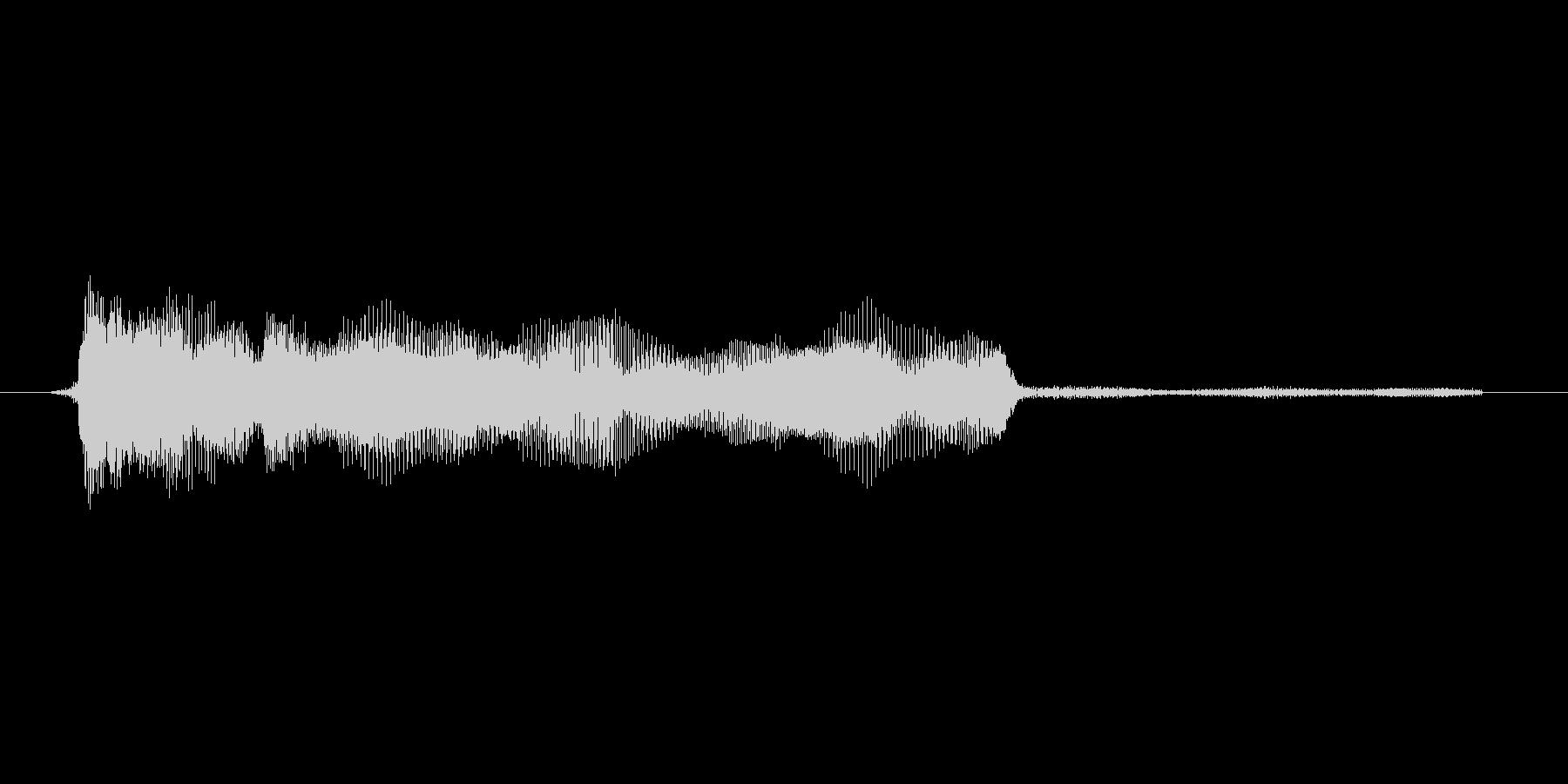 ゲーム、クイズ(ピンポン音)_007の未再生の波形