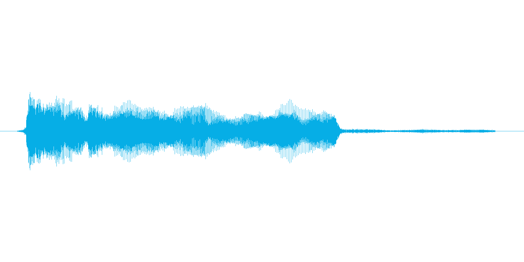 ゲーム、クイズ(ピンポン音)_007の再生済みの波形