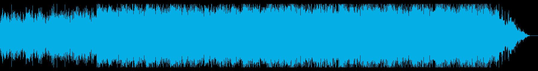 80's 切迫感 荒廃感 トレーラー音楽の再生済みの波形