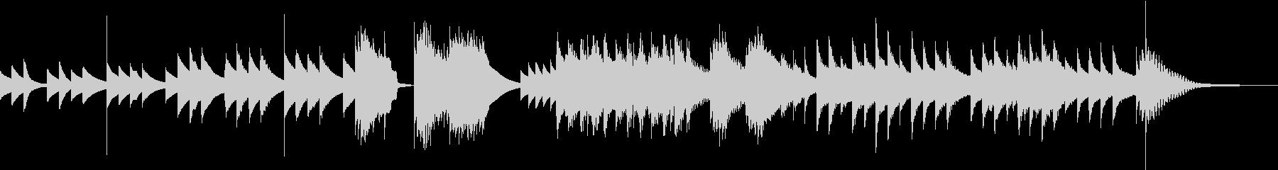十二音技法を用いた怪しく美しい曲の未再生の波形