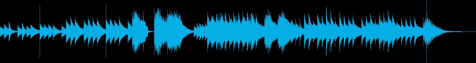 十二音技法を用いた怪しく美しい曲の再生済みの波形