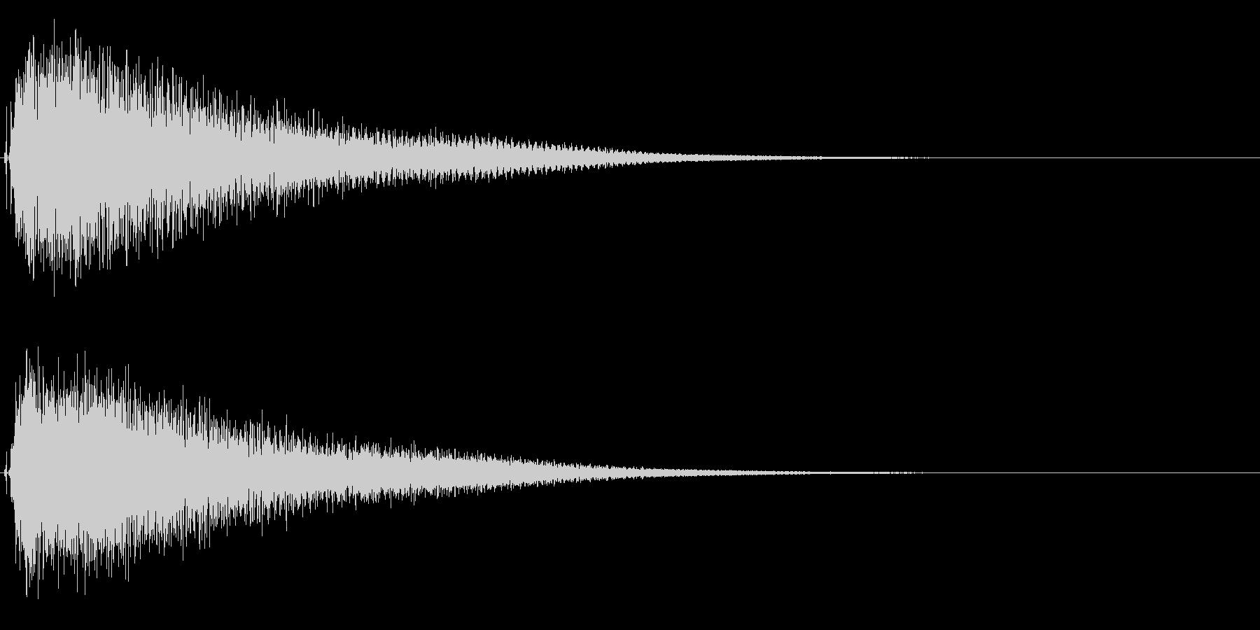 ハロウィン/ホラー不気味な不協和音ピアノの未再生の波形