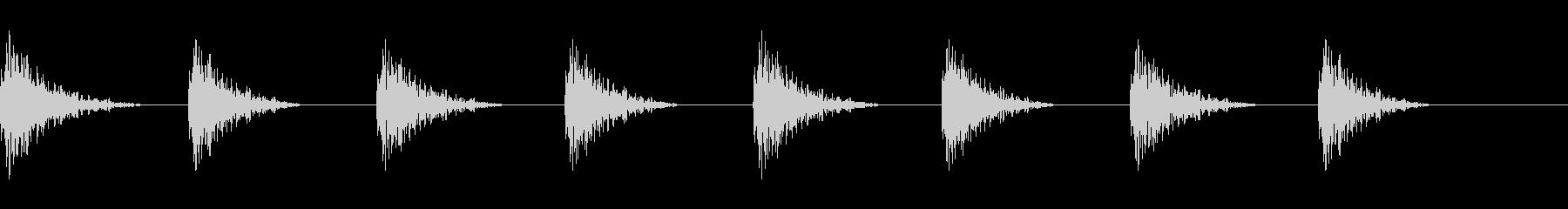 どすん(巨人、歩く、足音)A12の未再生の波形