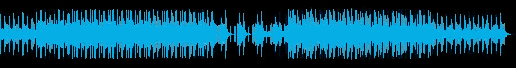 リズミカルで楽しいジャズっぽい曲の再生済みの波形