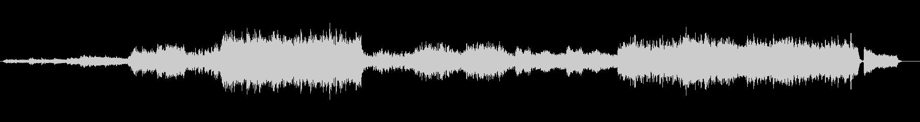 雄大なオーケストラ風アレンジ(組曲帝王)の未再生の波形