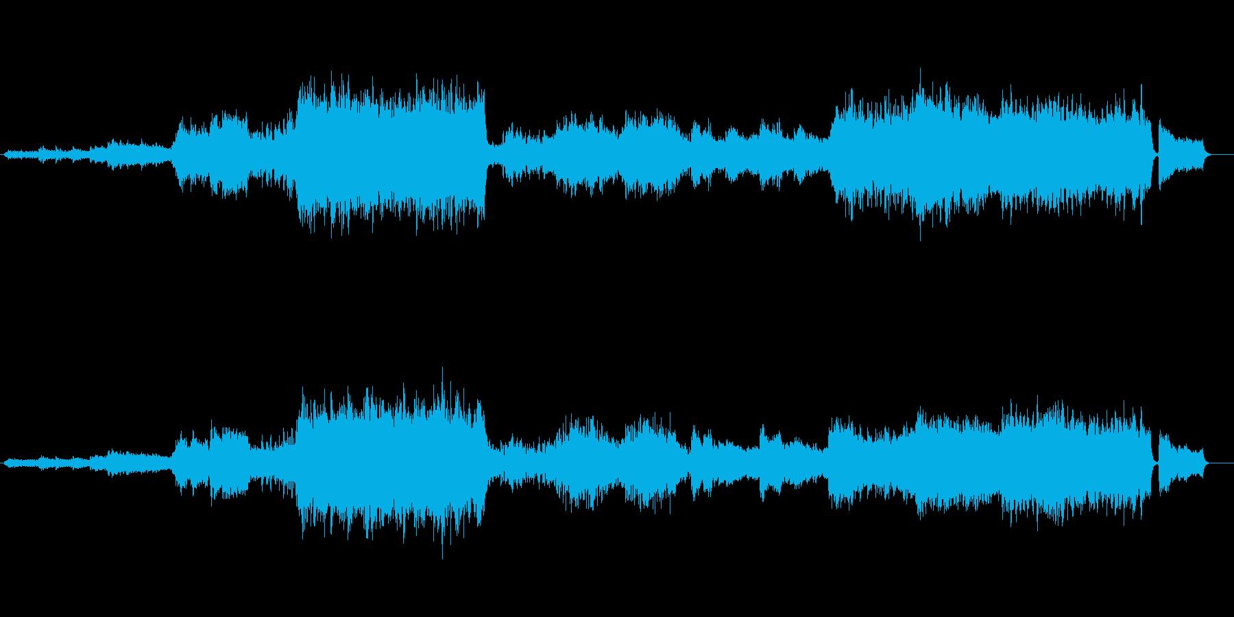 雄大なオーケストラ風アレンジ(組曲帝王)の再生済みの波形