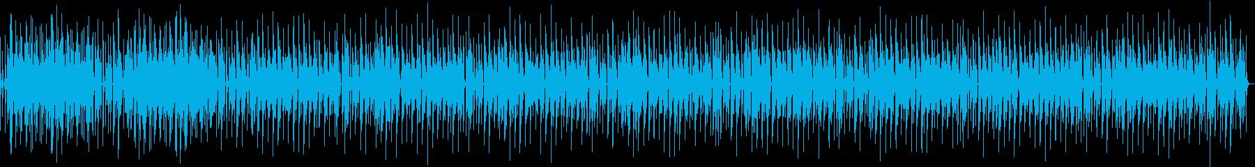 お洒落で本格的な定番ブルースギターBGMの再生済みの波形