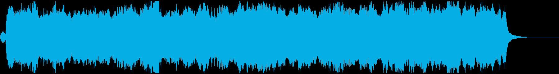 アメイジング・グレイスをオルガンソロでの再生済みの波形