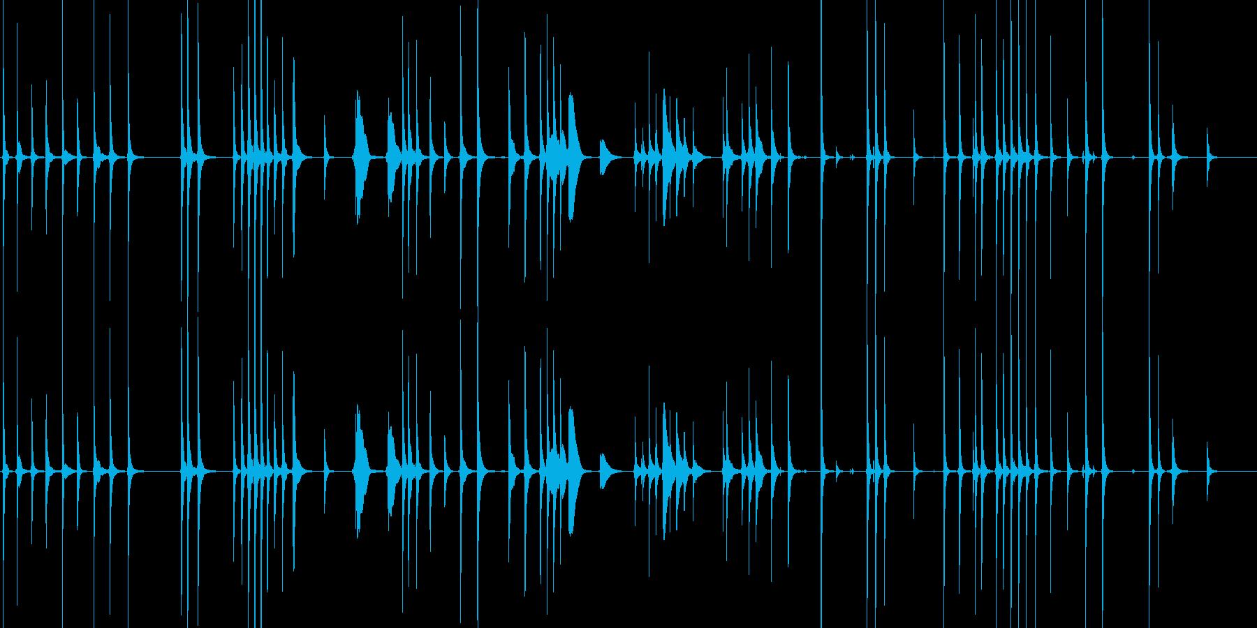 三味線133鷺娘31死ぬ合方長い方妖怪鷺の再生済みの波形