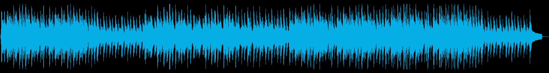 ピアノとアコギの感動的なエンディング曲の再生済みの波形