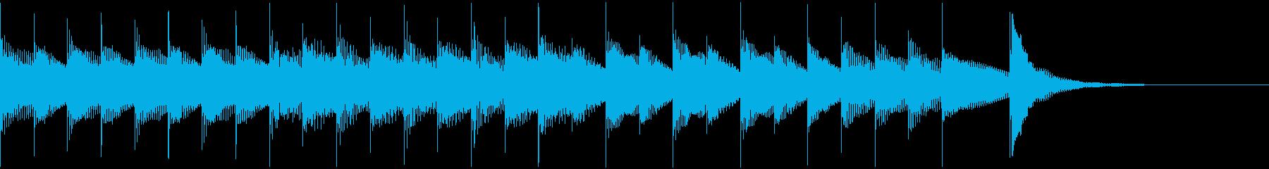 コロコロかわいい音!マリンバでほのぼの。の再生済みの波形