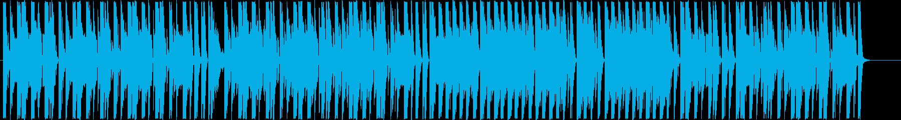 ロックマンエグゼのような室内の日常BGMの再生済みの波形