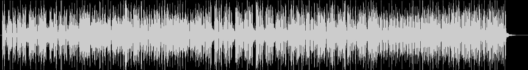 ジャジーなギターインストの未再生の波形