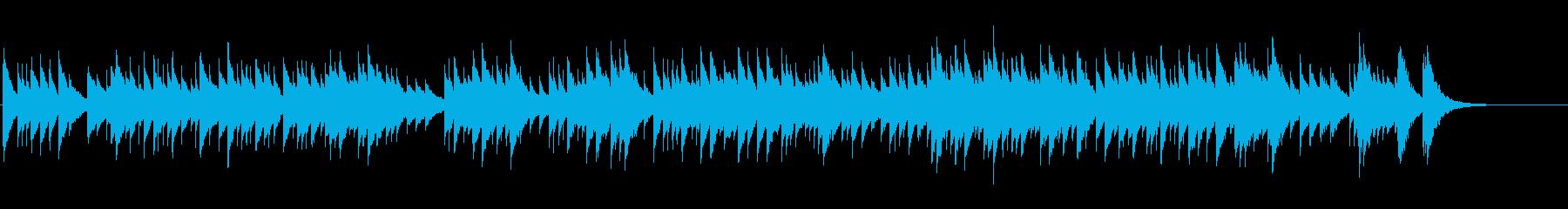 結婚式のスピーチに合いそうなオルゴールの再生済みの波形
