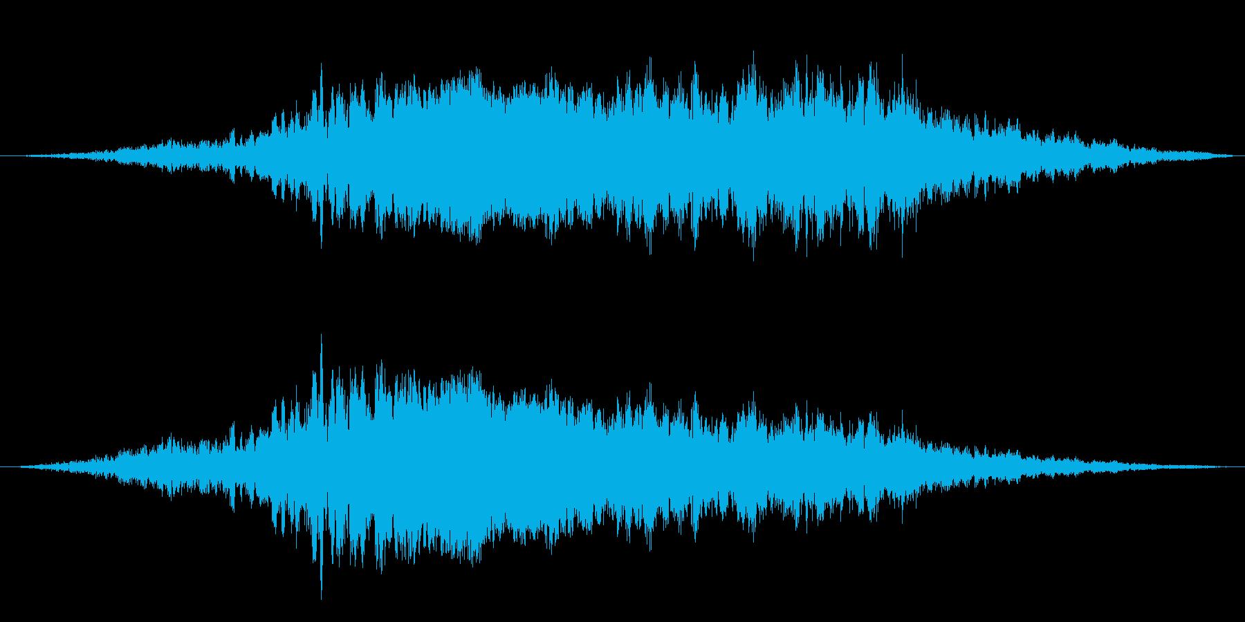 【レース08】ド迫力のF1のエンジン音!の再生済みの波形