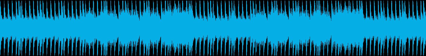 バトル・戦闘・ゲームの再生済みの波形
