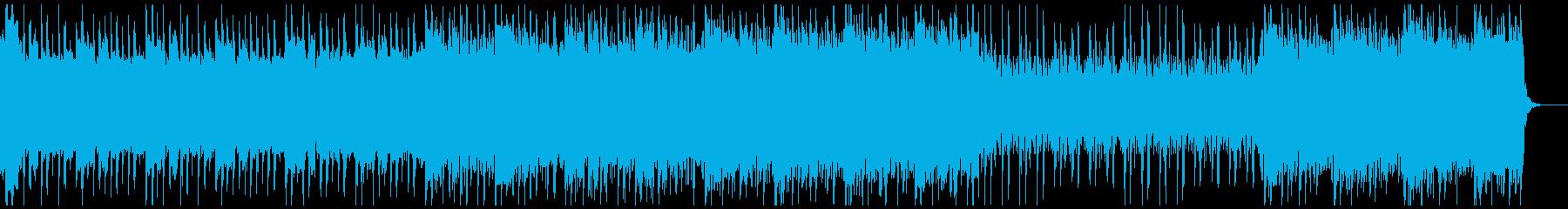 エキセントリックで奇妙なメロディの再生済みの波形