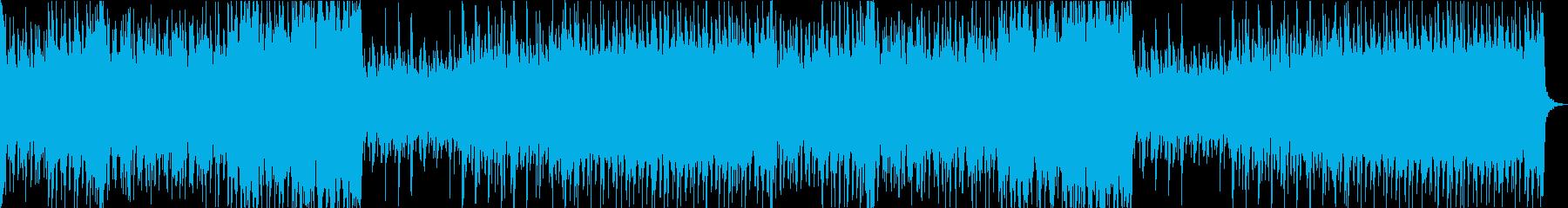 和風オーケストラ戦闘曲/壮大/尺八/琴の再生済みの波形