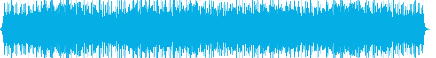 リズムなしの再生済みの波形