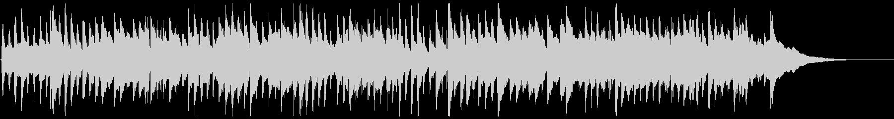 生演奏癒しのアコースティックギター曲の未再生の波形