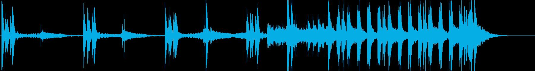 ホラー・ドッキリ・コント・イタズラの再生済みの波形