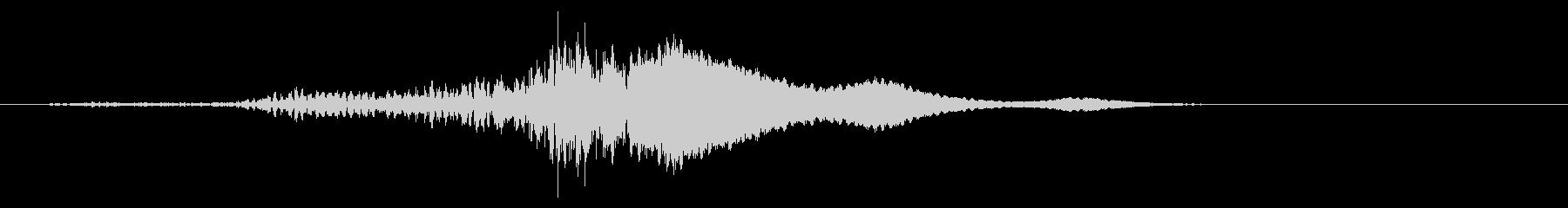 低フィードバックインパクト移行まで...の未再生の波形
