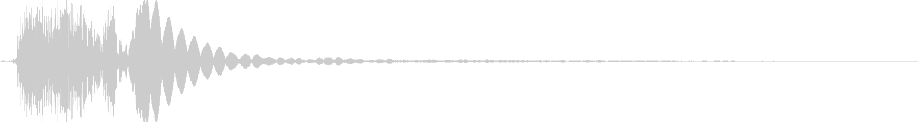 光線系の攻撃、閃光の音の未再生の波形