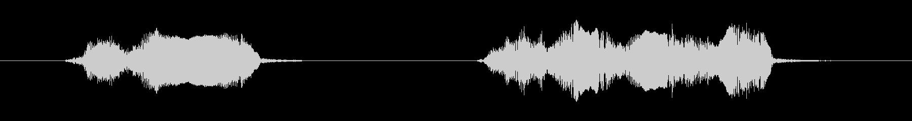 鳥 オウムスコー01の未再生の波形