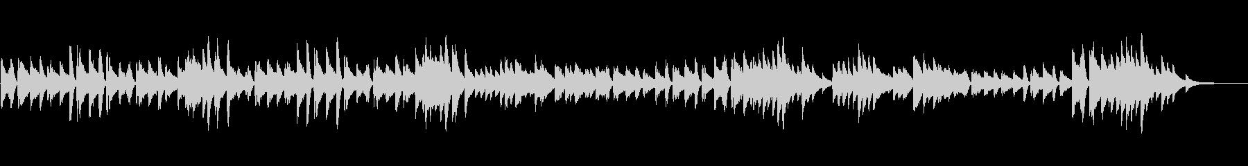 シューマン 軽快で純朴なピアノ曲 高音質の未再生の波形