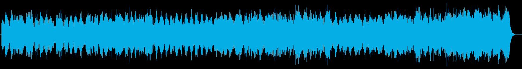 神秘的なストリングポップの再生済みの波形