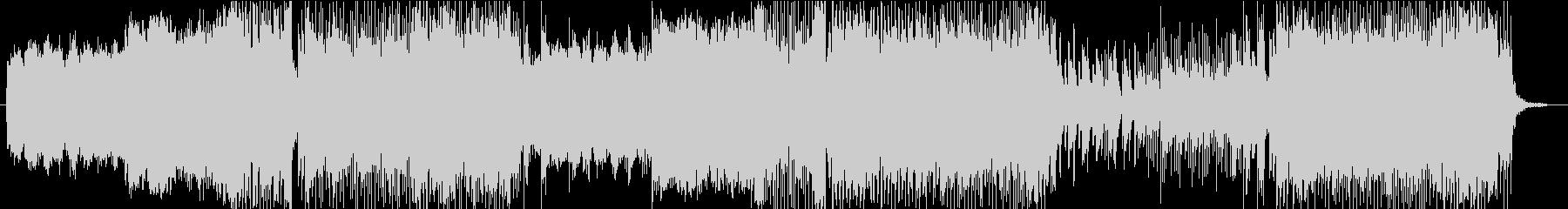 テクノ BGMの未再生の波形