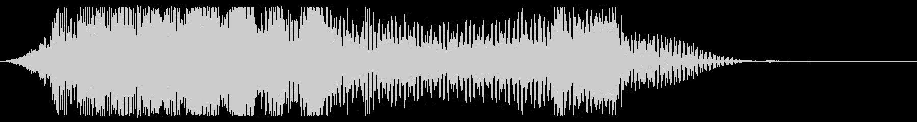 オープニングシェル、電子バウンス、共鳴の未再生の波形
