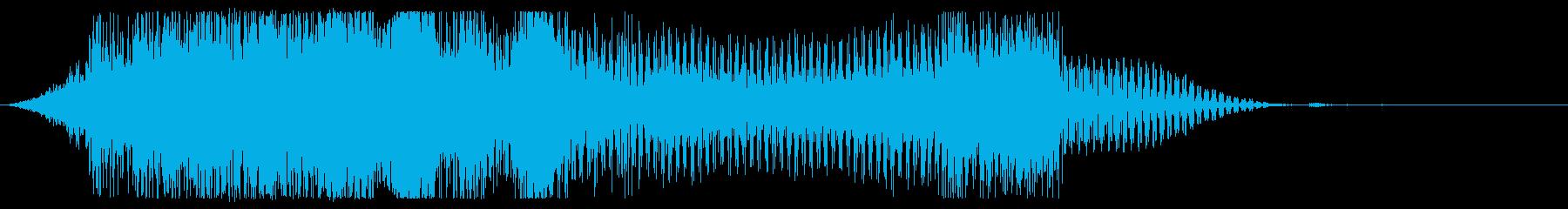 オープニングシェル、電子バウンス、共鳴の再生済みの波形